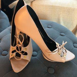 Pale Pink Nasty Gal Heels